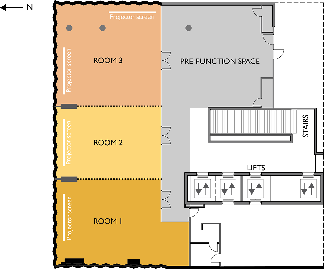 Uniting Communities Function Centre Floor Plan