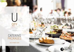 U City Function Centre catering packages Mar19