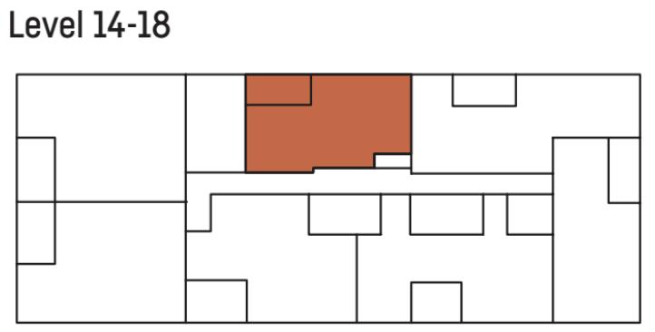 Allen 2 bedroom floor plan