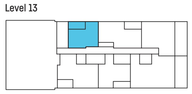 U City level 13 floor plan