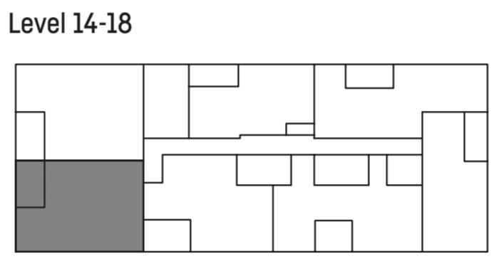 U City level 14- 18